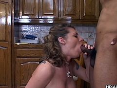 Kayla Quinn may be older lady, but she loves fucking like never before. Especially if it involves a younger black guy with a huge rod. Her mature pussy is still tight as ever, getting moist at the sight of a huge penis about to penetrate her vagina. Who wouldn't love sex with older chick?