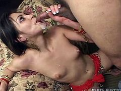 Belly dancers are always sexy and fucking a beautiful belly dancer, is once in a life time opportunity. Belly dancers can really show you new heights in sexual pleasure and you will never forget that amazing experience. This video is a perfect example to prove their amazing oral skills.