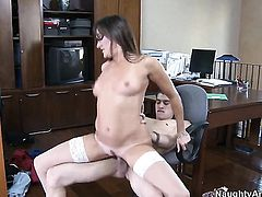 Michelle Lay gets her wet hole trained by Xander Corvuss throbbing boner