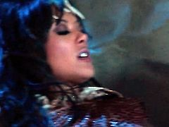 Kaylani Lei enjoys dudes thick throbbing snake in her juicy mouth