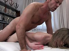 Rocco Siffredi gets pleasure from fucking irresistibly sexy Bianca Brills mouth