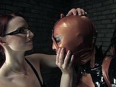 Vendetta voluntarily came to Claire Adams and asked to be her mistress. The past few years, she is glad to submit and it brings her great pleasure. Claire loves latex & domination and perfectly knows, how to use it. Are you ready for an unforgettable sight?