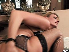 Brianna Love burns with desire before it comes to ass banging with Jon Jon after dick sucking