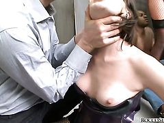 Dana DeArmond enjoys the earth moving fuck