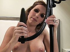 Courtney Cummz with massive knockers gets wildy pounded by Ryan Driller