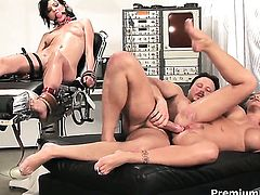 Brooke Haven with big boobs gets throat fucked by dudes sturdy man meat
