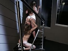 Sovereign Syre is in sexual ecstasy with Chastity Lynn