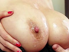 Kianna Dior is an Asian that is blessed with huge tits. They are big and firm and are really good at massaging hard dicks. She does a tit fuck.