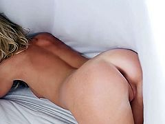 Visit official Playboy's HomepageBlondie loves to tease with her superb nude lines, undulating and shaking her fine ass while in the same time touching herself in sensual modes