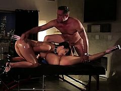 Katrina Jade is in heat in steamy oral action with hot guy