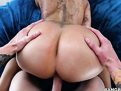 Brunette Lela Star with huge melons knows no limits when it comes to fucking