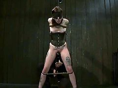 Astonishing Krysta Kaos has Toyed Rough inside pain pleasure mov