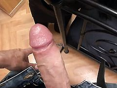 Nessa Devil enjoys the warmth of Rocco Siffredis rock solid worm deep down her throat