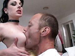 Tina Gabriel spends her sexual energy with Rocco Siffredis hard meat pole in her ass way