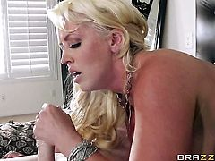 Milf Alura Jenson with phat ass needs nothing but her mans hard boner in her mouth to be happy