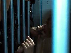 Horny Alektra Blue Gives Dirty mouth-fuck To Prison Officer