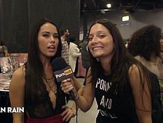Pornhub Aria at eXXXotica 2015 Interviews Day 2