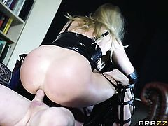 Milf sex kitten with big breasts enjoys ass way fucking too much to stop