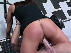 Sky fucked in the gym 75