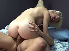 Maddy is my nympho neighbor. She is so good when it comes to giving head, that I can't get enough of her. She may not look so experienced, but the way she sucks my dick is simply amazing. Click and see, how much she loves to take it in her tiny cunt.