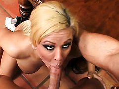 Cali Cassidy is curious about oral sex with hard cocked dude