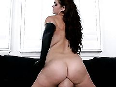 Amazingly sexy slut Alison Tyler loves getting her pussy hole banged by horny dude