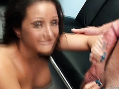 Domenic Kane cant wait to be banged in her mouth by hard dicked guy