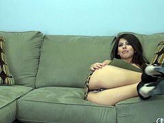 Seductive Layla has great tits and feels hornier than ever before