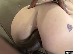 Tiffany Flowers rides her bike around town a lot, but she never thought the black dude at the end of her block would invite her in for some spontaneous sex. Shes never even sucked a dick before, and she leaves this dudes house without a virgin hole left
