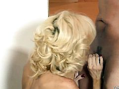 Rusty Nails gets used by horny dude the way she loves it