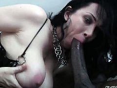 India Summer has a great desire for interracial pussy fucking