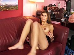 Latina MILF Michaela sucks and fucks on camera
