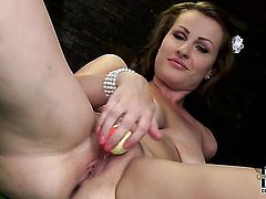 With big melons and smooth bush cant stop playing with her beaver
