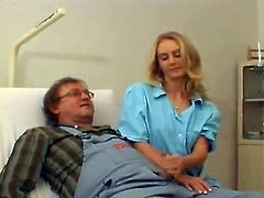 Smut Blonde Doctor Has porn nearly An Awkward Repairman