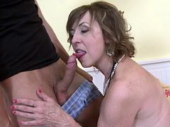 mature Danny (59) & toyboy play together