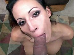 Layla Rivera plays And touches the huge wiener And has Her Mouth Filled nearly orgasm