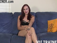 I will finally let you jerk off today JOI