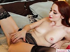 Exotic Violet Monroe is in the mood for interracial sex and gives it to horny guy