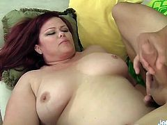 Plump Pussy Is Plugged