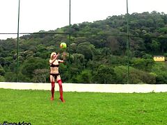 What could be more stimulating then a hot game of shemale volleyball? Throwing a blanket on the ground and having a tranny group orgy. This sexy T-babe foursome decide that having a group sex...