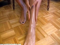 Ebony Feet Sweet Lotion.