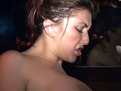 Isabella Soprano fucking a black guy at party 5