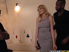 Black cock slut Bree Haze gets assfucked and double penetrated by Isiah and JonJon...