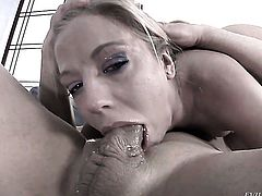 Chastity Lynn gets her pussy hole pumped full of cock in sex action with horny dude