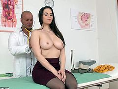 Foxy Nekane is a 24 year old girl, who set up a doctors appointment with one thought on her mind, to seduce the doc and suck his cock. He stood no chance in front of her charm, as she undressed and played with him. He submitted to her will completely, when she demonstrated her skill of dick sucking!