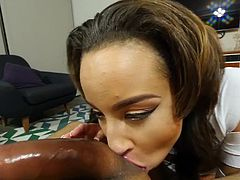 Visit official This Girl Sucks's HomepageNothing beats this slutty young babe when it comes to engulfing real dicks in harsh modes, this crazy cock sucking POV is more than enough for her