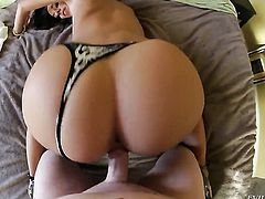 Jada Stevens cant get enough and takes guys hard fuck stick in her mouth again and again