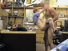 Red Haired Pawn Shop Whore Dolly Little Rides Shaft