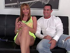 Hot and busty slut Maya Hills blows him and bangs hardcore