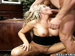 Blonde has butt sex on cam for your viewing pleasure